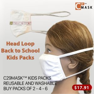 Back to School Cloth Masks