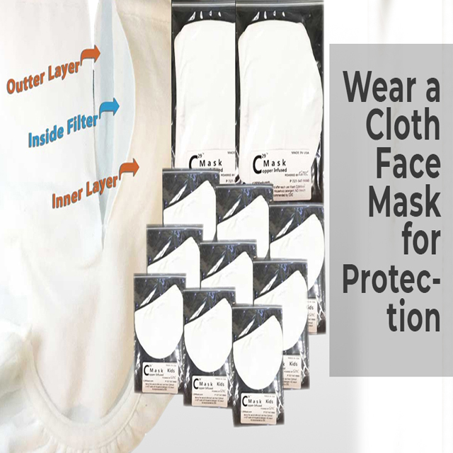 Wear a Cloth Face Mask for Protection